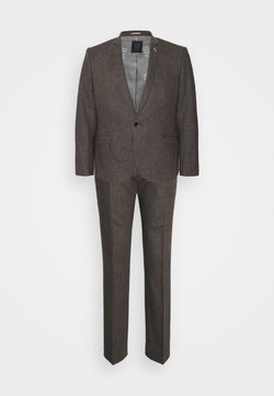 Shelby & Sons - NEWTOWN SUIT PLUS - Anzug - brown