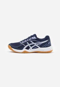 ASICS - UPCOURT 4 - Volleyballschuh - peacoat/pure silver