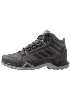 adidas Performance - TERREX AX3 MID GORE-TEX - Hikingschuh - grey five/core black/clear mint