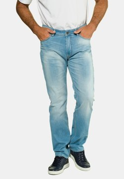 JP1880 - Jeans Straight Leg - bleached denim