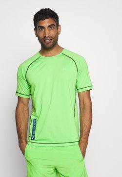 Calvin Klein Performance - SHORT SLEEVE - T-Shirt print - green