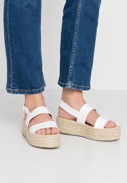 4th & Reckless - ELTON - Korkeakorkoiset sandaalit - white