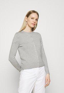 Marks & Spencer London - CREW CARDI PLAIN - Cardigan - grey