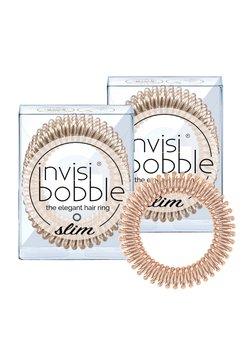 Invisibobble - SLIM HAARGUMMI 2 PACK - Haaraccessoire - bronze me pretty