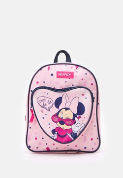Kidzroom - BACKPACK MINNIE MOUSE COOL GIRL VIBES - Ryggsäck - pink