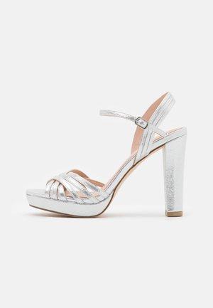 Silver Sandals Online | ZALANDO.CO.UK