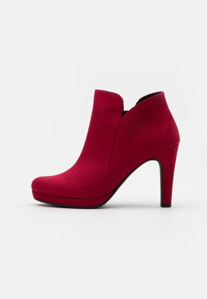Røde ballerinasko | Dame | Røde sko på nett hos Zalando
