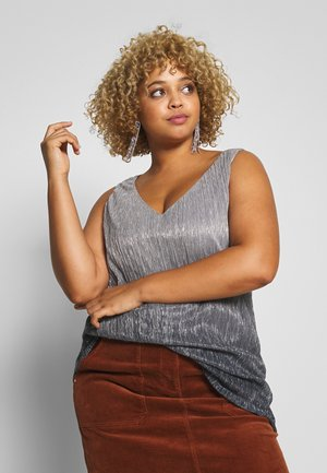 Evans OMBRE PLEATED - Bluser - grey