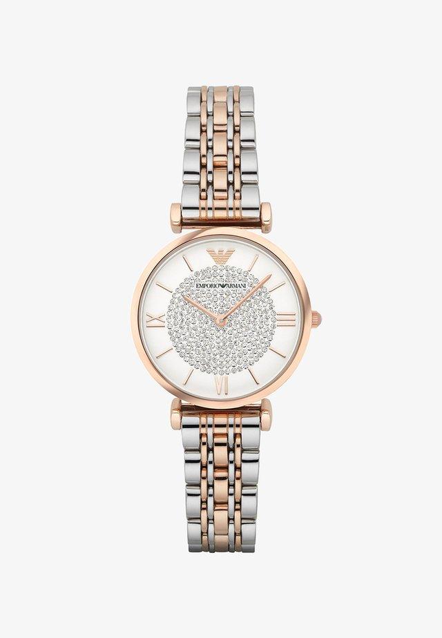 Uhr - silver-coloured/rosegold-coloured