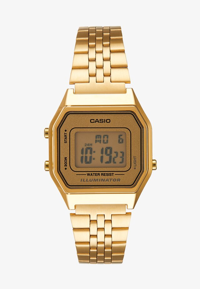 Digitaal horloge - gold-coloured