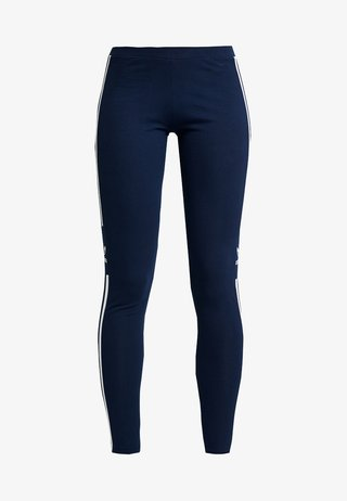 TREFOIL TIGHT - Leggings - Trousers - collegiate navy