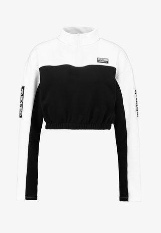 Mikina - white/black
