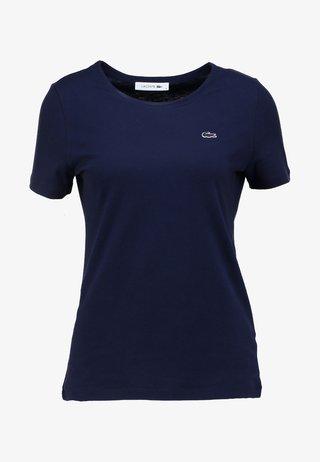 ROUND NECK CLASSIC TEE - T-shirts basic - marine