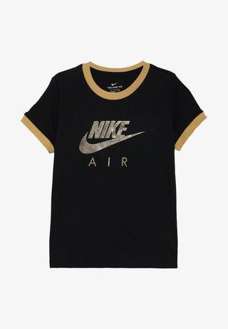 TEE AIR LOGO RINGER - T-shirts med print - black