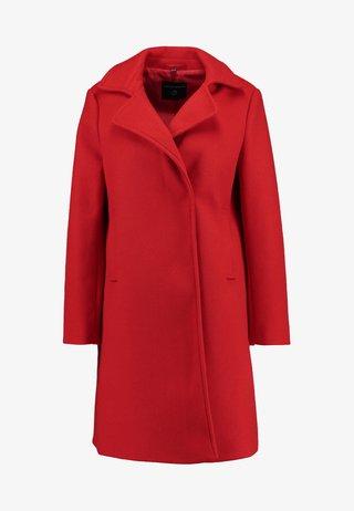 POPPER SWING - Short coat - red