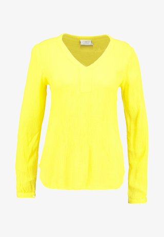 AMBER BLOUSE - Blouse - cyber yellow