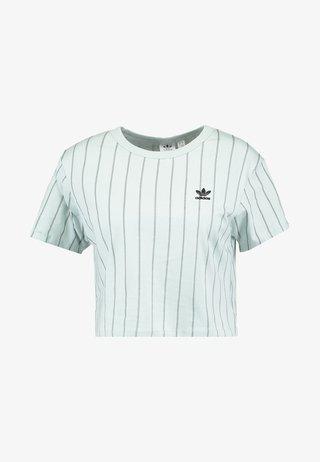 CROP TEE - T-Shirt print - vapour green