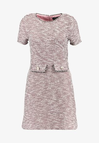 TRIM SHIFT - Day dress - pink