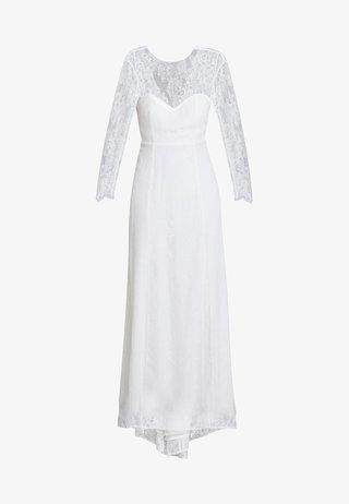 OPEN BACK BRIDAL DRESS - Gallakjole - snow white