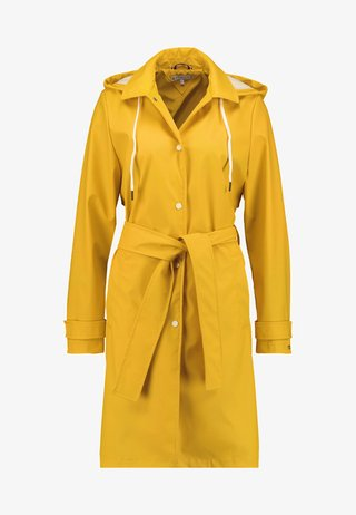 BRITT HOODED - Parkatakki - yellow