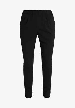 JILLIAN PANTS - Stoffhose - black deep