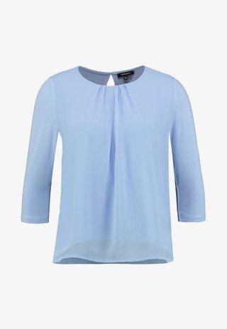 PATCHED - Langærmede T-shirts - fresh blue