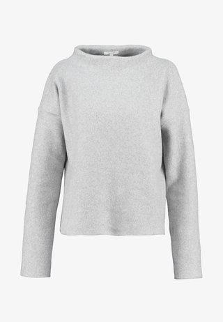 GESINA - Strickpullover - iron grey melange