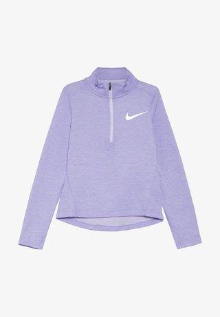 RUN - Tekninen urheilupaita - lavender mist/medium violet