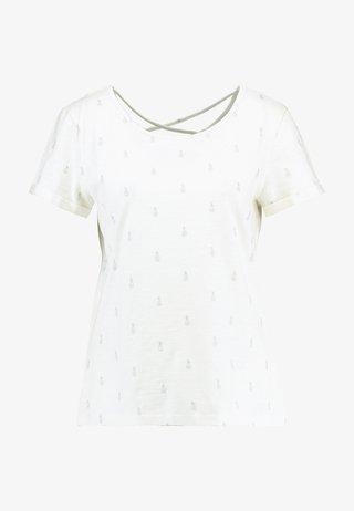 FOIL ALLOVER - T-Shirt print - offwhite