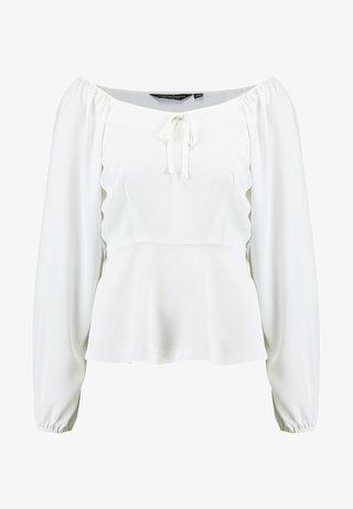 SQUARE NECK - Bluser - off white