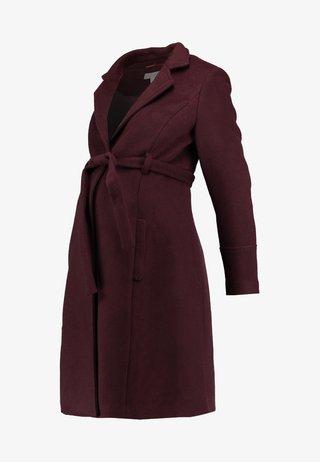 PRINCESS COAT - Classic coat - wine