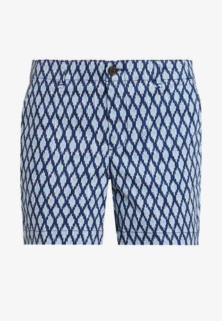 CITY - Shorts - blue geo