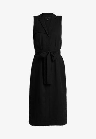 TRENCH DRESS - Robe d'été - black