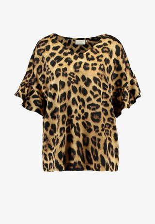 KAMARIE BLOUSE - Blusa - tiger's eye