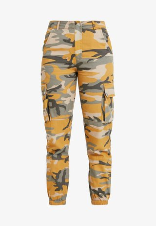 CAMO UTILITY TROUSER RADAR - Stoffhose - yellow