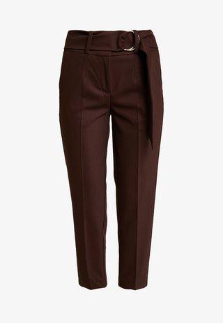 Kalhoty - dark chocolate