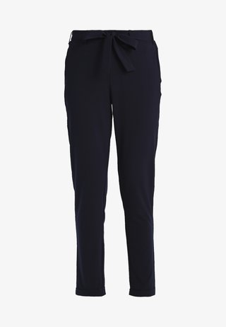 JILLIAN BELT PANT - Trousers - midnight marine