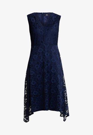 HANKY DRESS - Cocktailkleid/festliches Kleid - dark blue