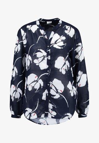 JDYLOOP - Bluse - navy blazer/cloud dancer