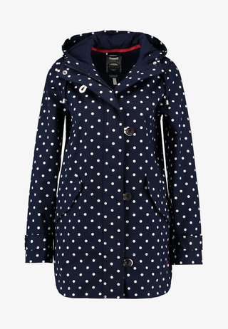 COASTMID PRINT - Kurzmantel - dark blue