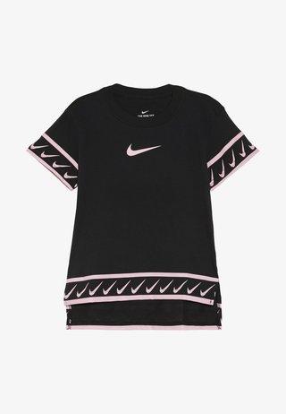 TEE STUDIO - T-shirt imprimé - black/pink tint