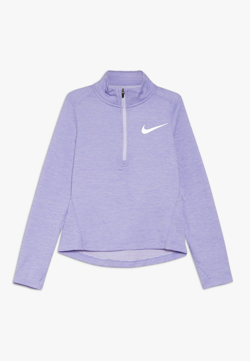 Nike Performance - RUN - Top s dlouhým rukávem - lavender mist/medium violet