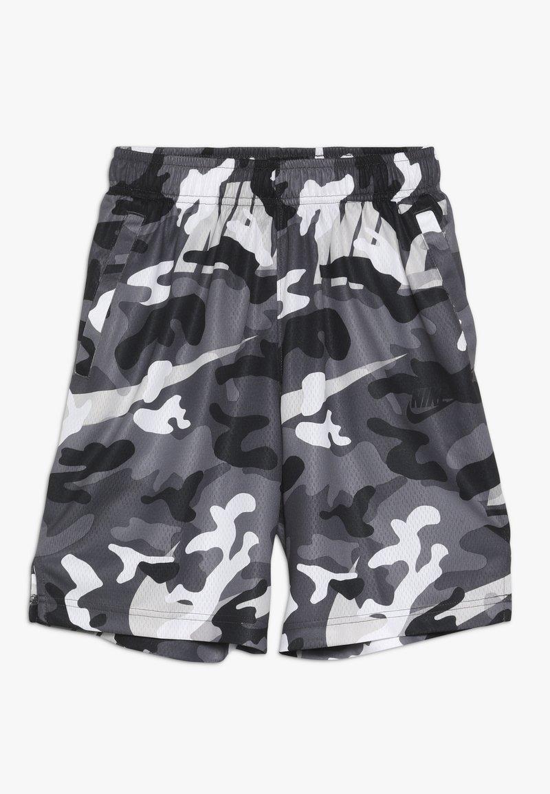 Nike Performance - DRY CAMO SHORT - Sports shorts - white/gunsmoke/thunder grey